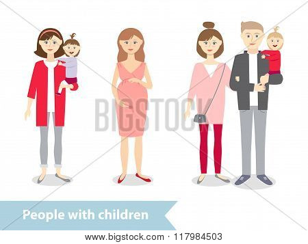 people with baby