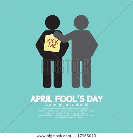 April Fool's Day Concept Symbol.