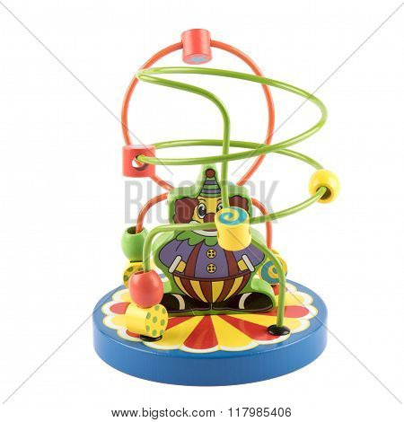 Wooden Toy Logic Game