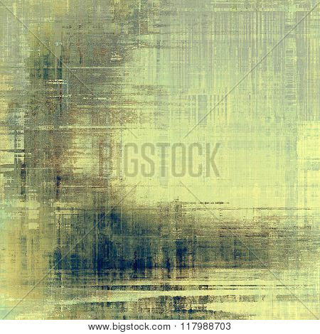 Grunge old texture as abstract background. With different color patterns: yellow (beige); brown; blue; cyan; gray