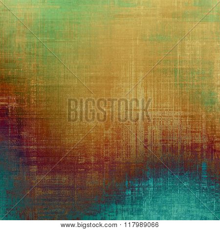 Retro background with grunge texture. With different color patterns: yellow (beige); brown; blue; green; purple (violet)