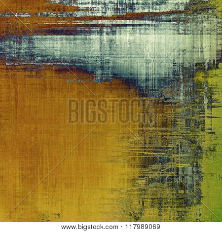 Highly detailed grunge texture or background. With different color patterns: yellow (beige); brown; blue; green; gray