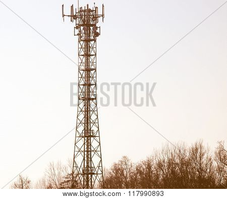 Telecommunication Aerial Tower Vintage