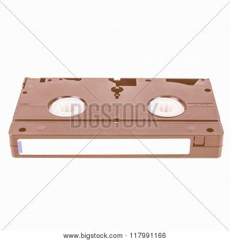 Vhs Tape Cassette Vintage