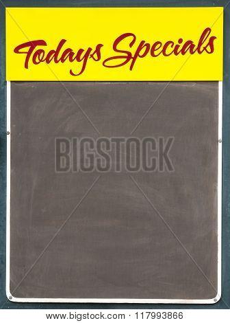 Todays Specials Sign