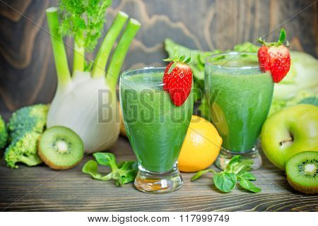 Green smoothie in our diet to boost immunity