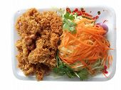 Catfish Spicy With Mango And Carrot Or Yam Pla Dook Foo poster