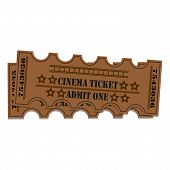 Постер, плакат: Two tickets to the cinema