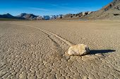 Постер, плакат: The Racetrack Playa Death Valley CA