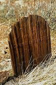 Weathered Grave Marker poster