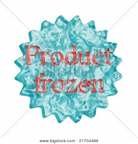 Button Icon: Product Frozen