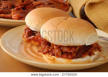 Barbeque Beef Sandwich