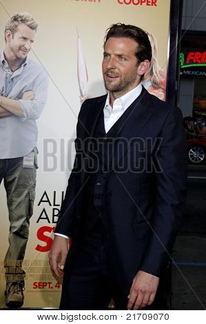 LOS ANGELES - AUG 26:  Bradley Cooper at the premiere of 'All About Steve' held at Grauman's Chinese Theater in Los Angeles, California on August 26, 2009