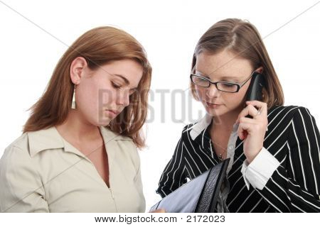 Two Young Business Women