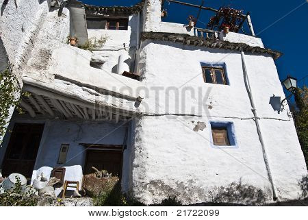 house facade alpujarra