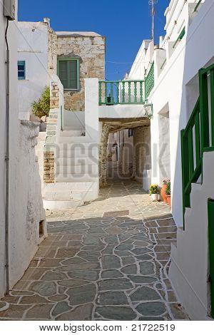 Folegandros Alley