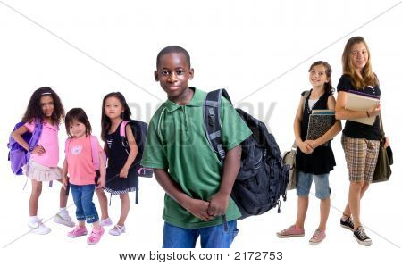 Group Of School Kids