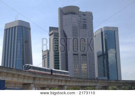 Landscape Of Kuala Lumpur, Malaysia