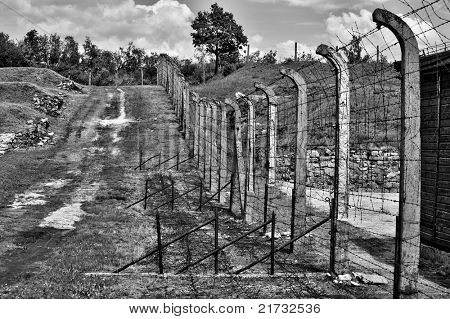 Concentration camp Gross Rosen Poland