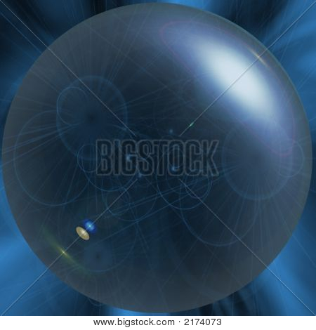 Abstract Crystal Ball