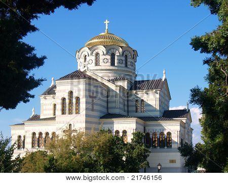 Chersonesus Cathedral In Sevastopol