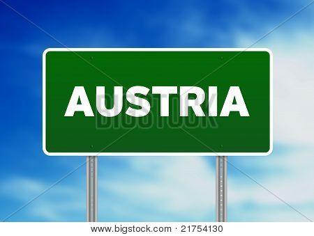 Austria Highway  Sign