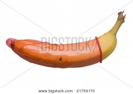 Banan in a condom