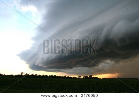 Supercell de Great Plains