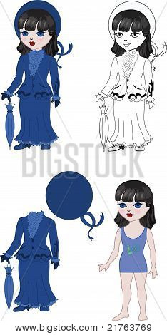 Costume Girl Set