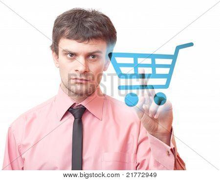 Shopping Cart Icon.
