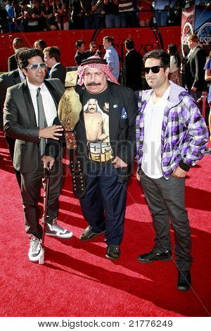 LOS ANGELES - JUL 15: Iron Sheik at the 2009 ESPY Awards held at the Nokia Theater in Los Angeles, California on July 15, 2009