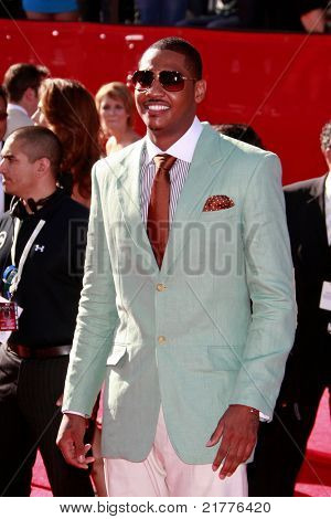 LOS ANGELES - JUL 15: Carmelo Anthony at the 2009 ESPY Awards held at the Nokia Theater in Los Angeles, California on July 15, 2009