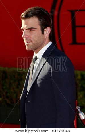 LOS ANGELES - JUL 15: Zachary Quinto at the 2009 ESPY Awards held at the Nokia Theater in Los Angeles, California on July 15, 2009