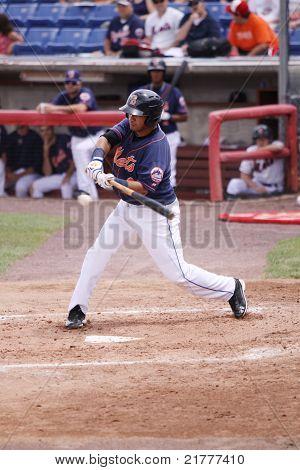 Binghamton Mets batter Jose Coronado