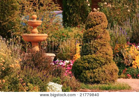 Garden in the Fall