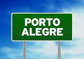 Porto Alegre Highway Sign