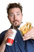 Постер, плакат: Человек есть французский картофель