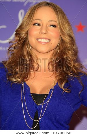 LOS ANGELES, CA - NOV 20: Mariah Carey is at her perfume 'M' launch at Macy's, Glendale Gallery, Glendale, California on 20 November 2007