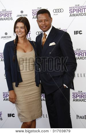 SANTA MONICA, CA - FEB 25: Terrence Howard at the 2012 Film Independent Spirit Awards on February 25, 2012 in Santa Monica, California