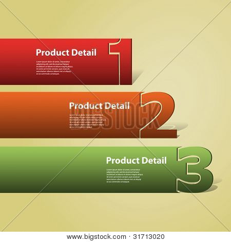 Header or Banner Design - Numbers