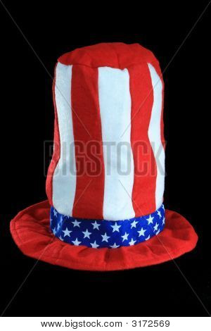 Red White Blue Hat
