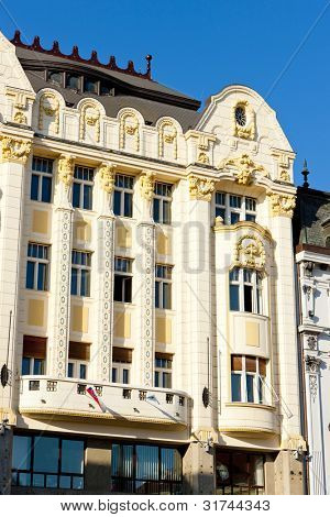 Palace of the Hungarian exchange bank, Main Square (Hlavne namestie), Bratislava, Slovakia