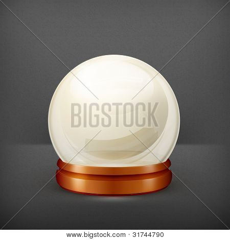 Magic ball, vector