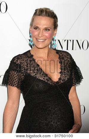 LOS ANGELES - MAR 27:  Molly Sims Valentino Beverly Hills Opening at the Valentino Store on March 27, 2012 in Beverly Hills, CA
