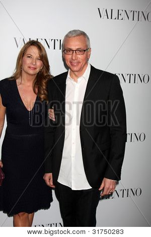 LOS ANGELES - MAR 27:  Dr Drew Pinsky arrives at the Valentino Beverly Hills Opening at the Valentino Store on March 27, 2012 in Beverly Hills, CA