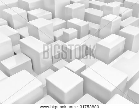 Abstract dynamic block background