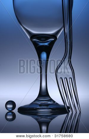 Still Life In Glass