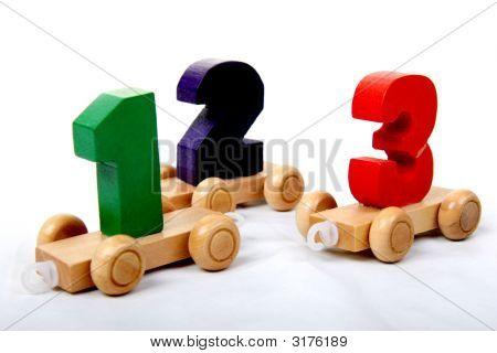 Wood Numbers_123