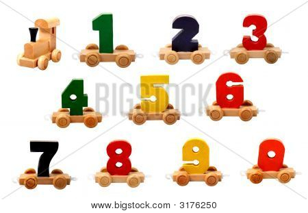 Wooden Numbers_09_Isolated_Smaller