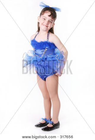 Child In A Tutu